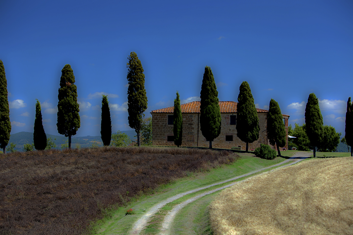 at home in tuscany